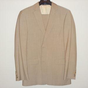 Hugo Boss Light Brown Suit